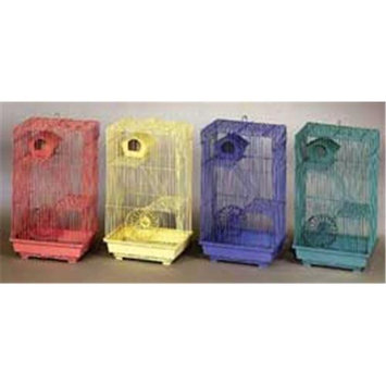 Prevue Pet Products 3 Story Gerbil Hamster Cage 14x11x22 Inch Pack Of 4 - 2030C