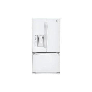 LG Ultra-Large Capacity 3 Door French Door Refrigerator with Dual Ice Makers