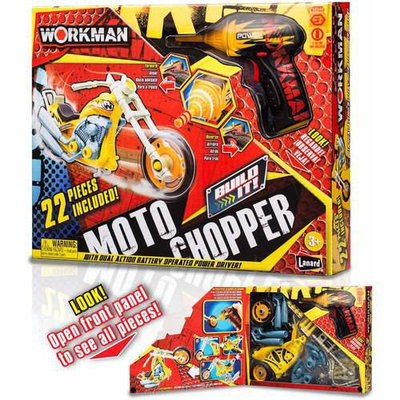 Lanard Toys Limited Chopper Build It Motorcycle 22 pieces