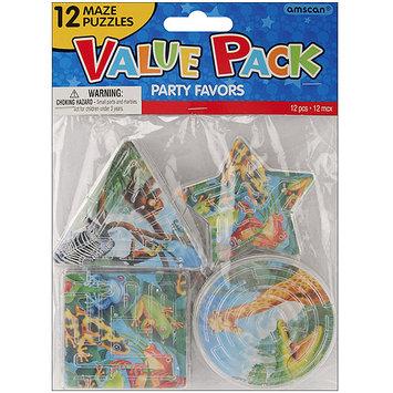 Amscan 390458 Party Favors 12/Pkg Rainforest Friends Puzzle