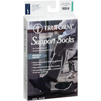 Truform Men's Navy Support Socks, Medium, 1ct