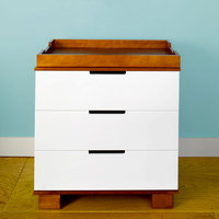 Babymod Baby Mod - ParkLane 3-Drawer Changer, Amber and White