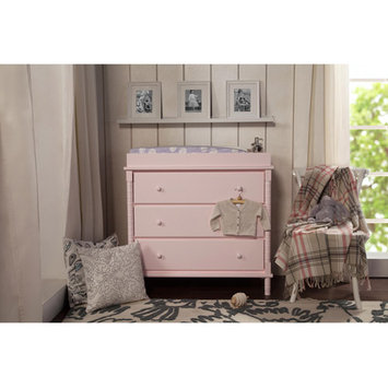 Million Dollar Baby DaVinci Jenny Lind 3-Drawer Changer Dresser - Blush Pink