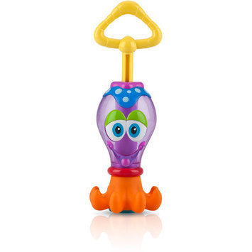 Nuby Squid Squirter - purple, one size