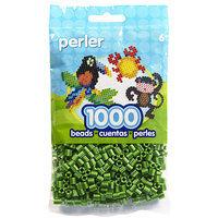 Perler PSBB05-15145 Perler Striped Beads 1000-Pkg-Raspberry Pearl