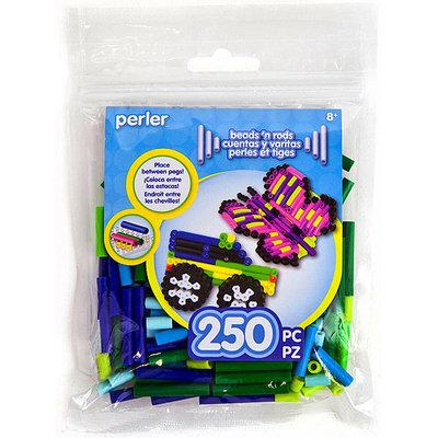 Perler RODMX-15156 Perler Rod Beads 250-Pkg-Caribbean Mix