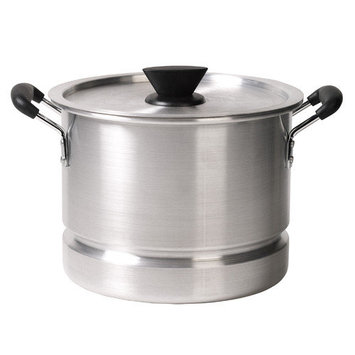 Tabletops Unlimited, Inc 12 Quart Aluminum Stock/Steamer Pot