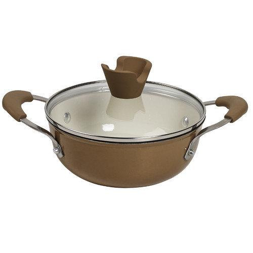 Anna Boiardi 1.5-qt. Nonstick Enamel Cast-Iron Covered Casserole Dish