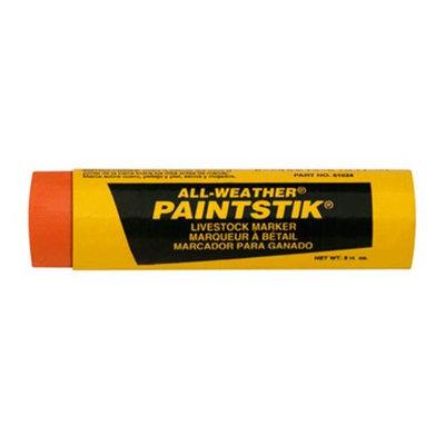 Laco Industries Inc La-co Industries All-weather Paintstik Orange Pack Of 12 - 61024