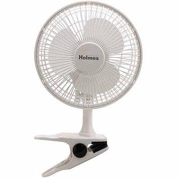 Holmes HCF0611AWM Oscillating Table Fan Infinite Speed White