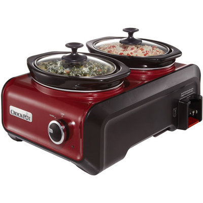 Crock-Pot Hook Up Double Cooker Connectable Entertaining System