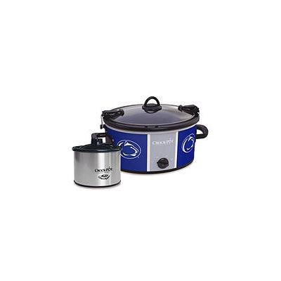 Crock-Pot Cook & Carry Penn State Nittany Lions 6-Quart Slow Cooker Set (Pst Team)