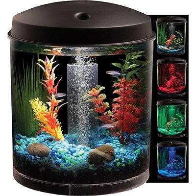 Tominaga TOM Aquaview Cylinder LED Aquarium Kit 2 gal