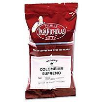 Papanicholas Coffee 25182 Premium Coffee Colombian Supremo 18/carton