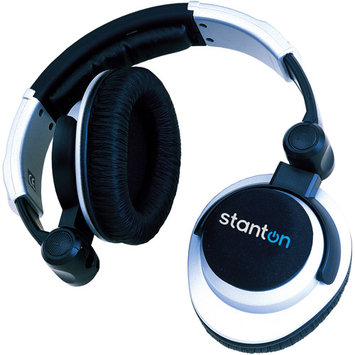 Stanton DJ Pro 2000S Swivel Cup Headphones with Carry Bag