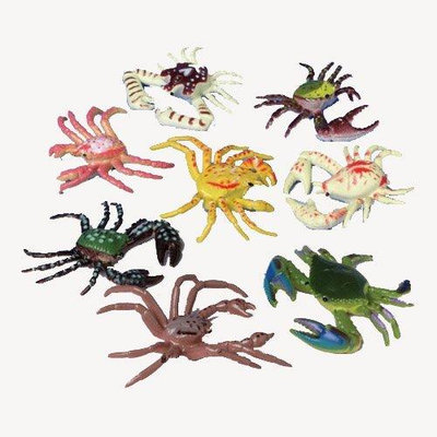 US Toy Company 1621 Mini Crabs