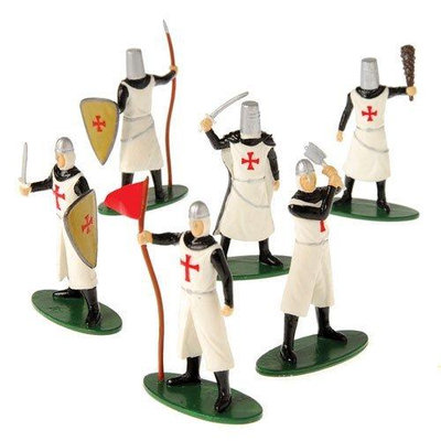 US Toy Company 2453 Crusader Figures