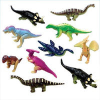 US Toy Company 9515 Moveable Dinosaurs