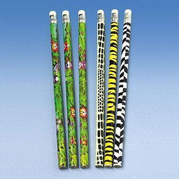 US Toy Company KA145 Animal Print Pencils