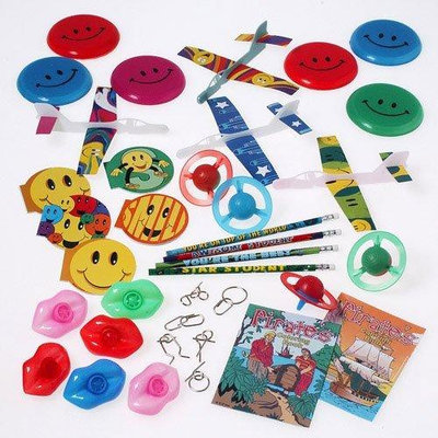 US Toy Company SA17 Fish Pond-Grab Bag Asst-100-Pc