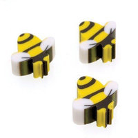 US Toy Company LM174 Mini Bumble Bee Erasers, 144-Pack