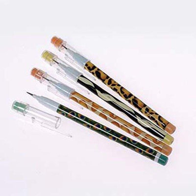 US Toy Company KA298 Animal Print Push Point Pencils