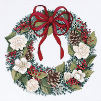 Janlynn Christmas Traditions Counted Cross Stitch Kit