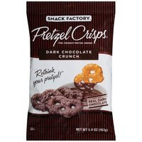 Pretzel Crisps DISCONTINUED PC DARK CHOCOLATE 5.