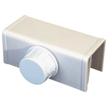Prime Line Prime-Line Bi-Fold Plastic Door Safety Latch S 4553