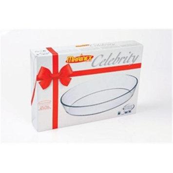 Marinex 3.4-Quart Oval Baking Dish, Gift-Boxed