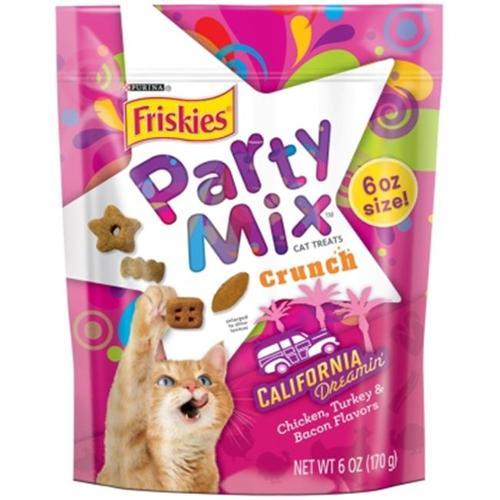 Purina Friskies Party Mix Crunch California Dreamin' 2.625lb (7 x 6oz)
