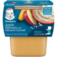 Gerber® 2nd Foods® Baby Food | Apple Banana With Mixed Cereal