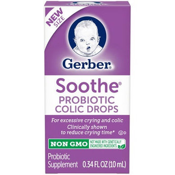 Gerber® Soothe®   Probiotic Colic Drops