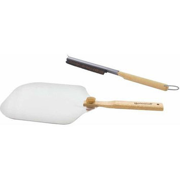 Companion Group Charcoal Companion® Pizza Oven Brush and Peel Accessories Kit