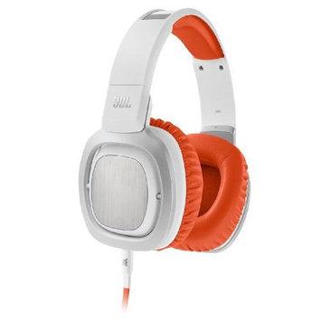 JBL J88i Premium Over-Ear Headphones with Microphone (Orange and White)