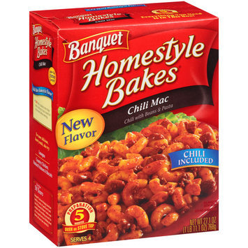 Banquet Homestyle Bakes Chili Mac, 27.1 oz