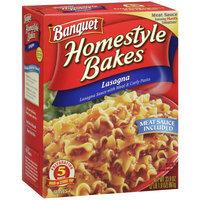 Banquet Homestyle Bakes Lasagna, 33.9 oz