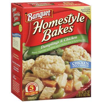 Banquet Homestyle Bakes Dumplings & Chicken, 25.7 oz
