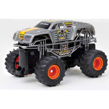 New Bright 1:43 Radio Control Full-Function Monster Jam Max-D, Gray