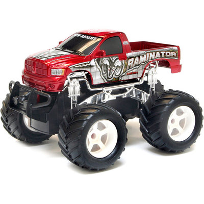 New Bright 1:24 Scale Radio Control Monster Truck - Snake Bite - Green