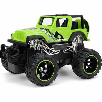 New Bright 1:24 Radio Control Full-Function Jeep Wrangler, Green