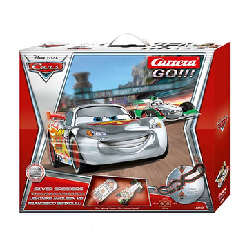 Carrera Disney Cars Silver Speeders Racing Set