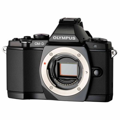 Olympus - OM-D E-M5 161-Megapixel Digital Camera - Black