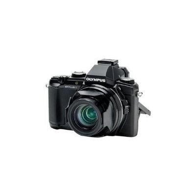 Olympus Stylus 1s Digital Camera, 12MP, 10.7x Optical Zoom, 1080p Full HD Video, Wi-Fi, Black