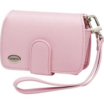 Olympus Premium Compact Leather Digital Camera Case (Pink)