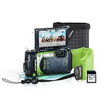 Olympus TG-870 16MP Wi-Fi Camera Bundle with Float Strap, Case and 8GB SD Card