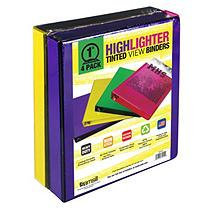 Samsill - Highlighter Tinted View Binders 1