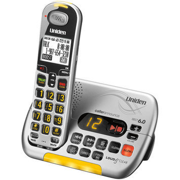 Uniden D3097S DECT 6.0 Amplified Cordless Phone