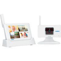 Uniden G403 Lullaboo Guardian Wireless Baby Monitor White
