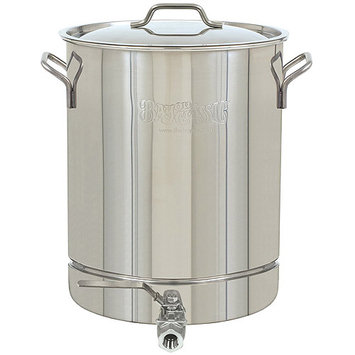 Bayou Classic 16 Gallon Stainless Steel Stockpot With Spigot